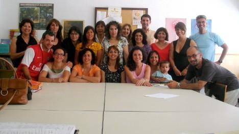 Plantilla del CEIP San Bernardo, curso 2007-2008