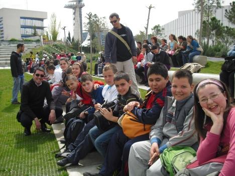 Parque de las Ciencias Viaje de fin de curso 6º