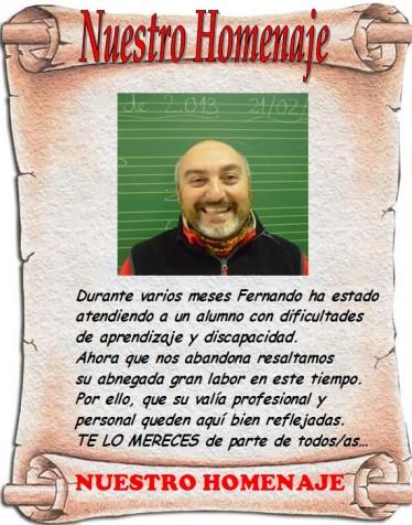 Homenaje a Fernando