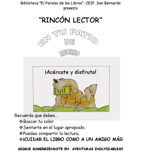 Rincón Lector ceipsanbernardo