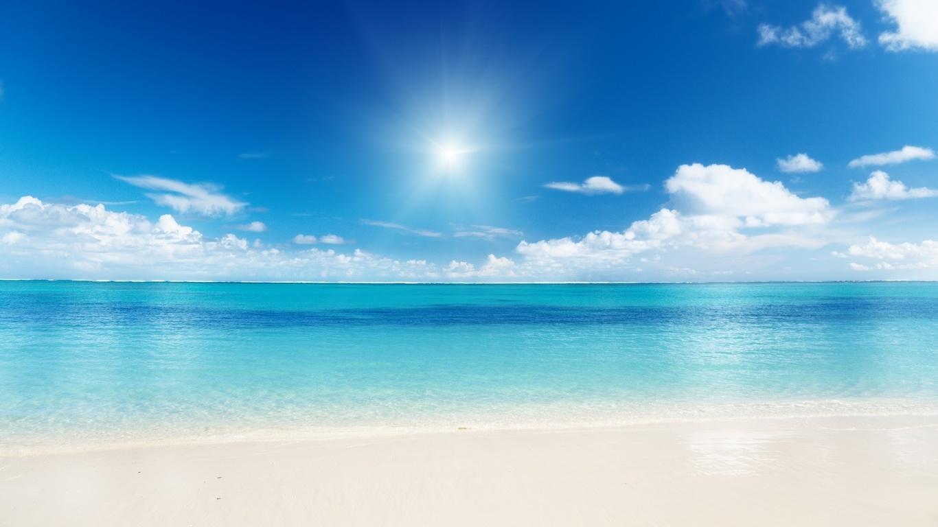 Nubes sol y lluvia fondos de pantalla azul mar verano foto for Immagini hd mare
